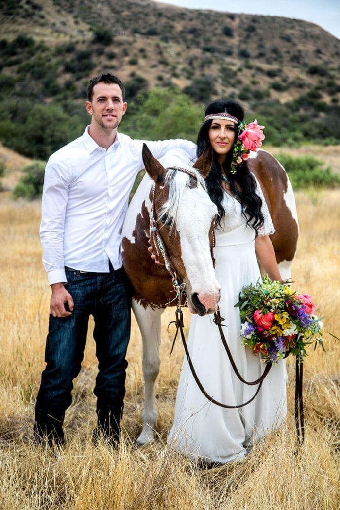 Los Angeles Santa Clarita Wedding Bride and Groom