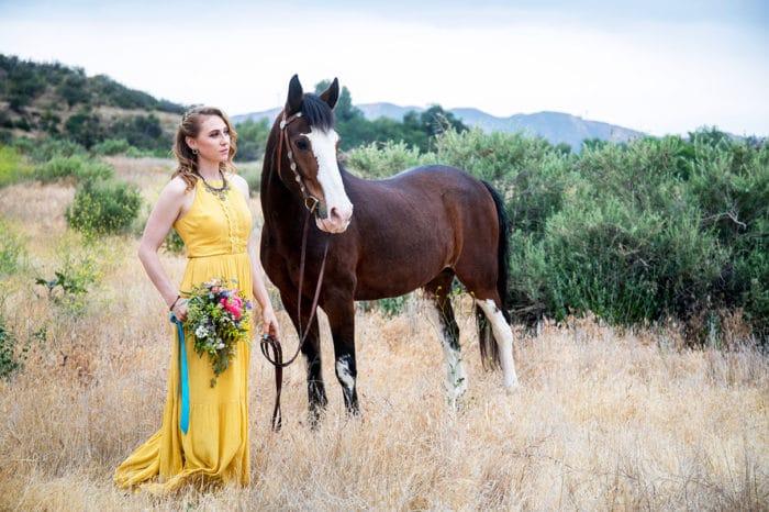 Los Angeles Wedding Santa Clarita Bridesmaid