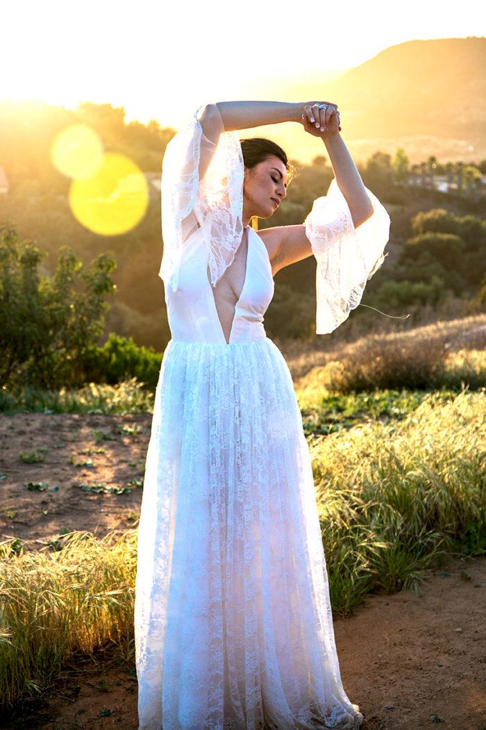 Los Angeles Fashion Bride