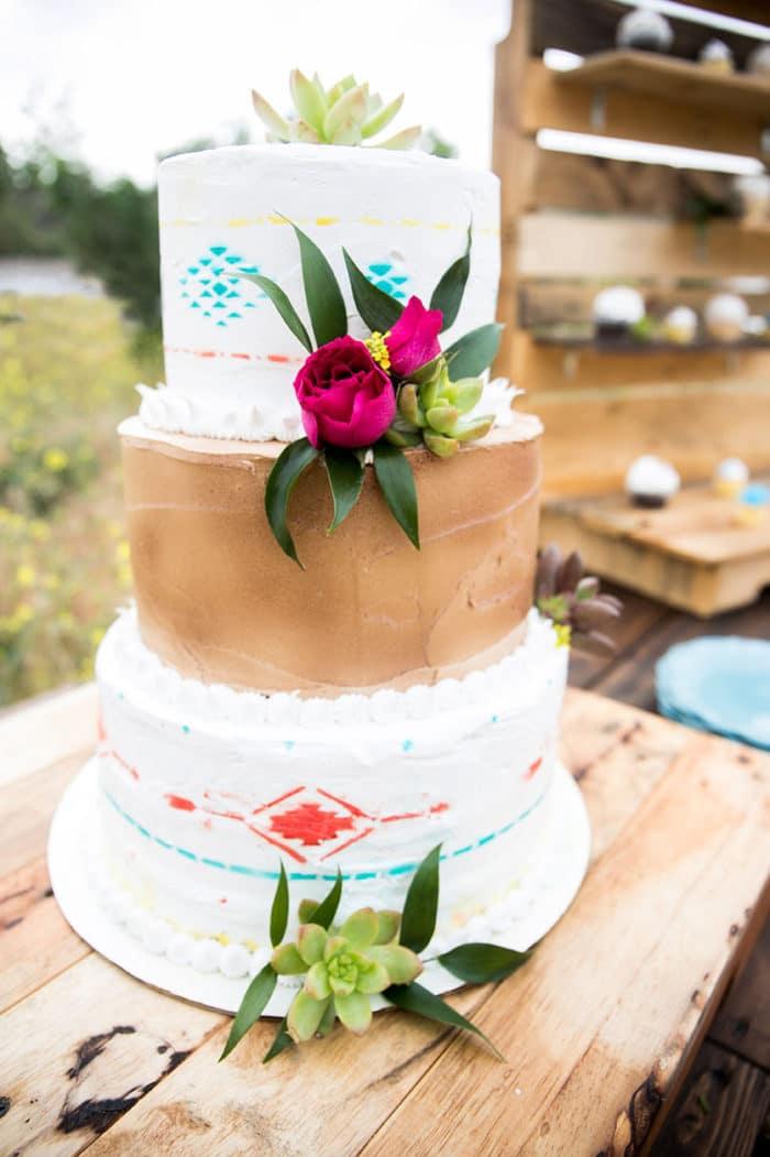 L.A. Wedding Cake
