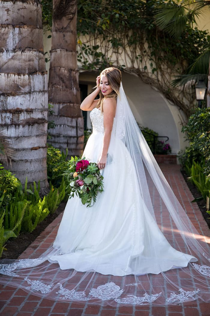 Santa Barbara Wedding Bride