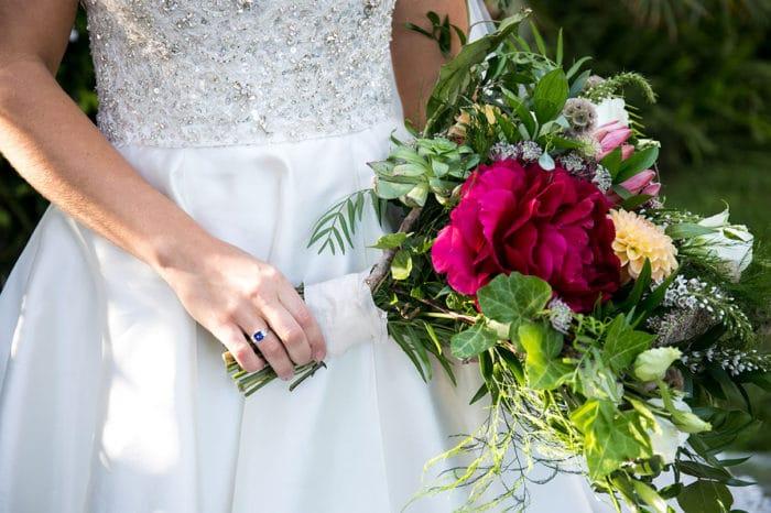 Santa Barbara Wedding Bride ring