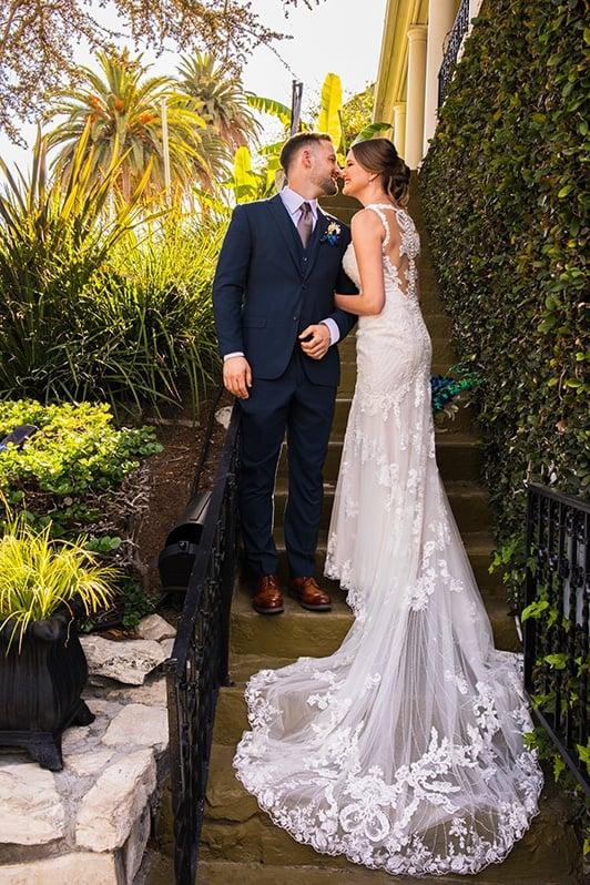 Los Angeles Wedding Bride and Groom
