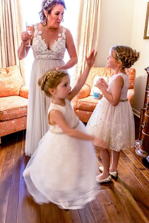 Santa Barbara wedding day